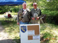 John and Dan at Kernville Hatchery Event