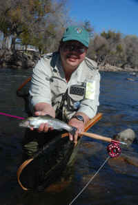 I.W.F.F. - catching fish on the Kern River