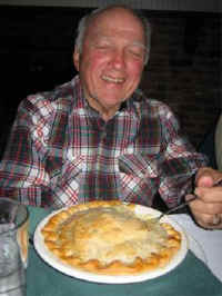 Bob ordered the Pot Pie from Hell