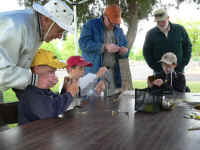 Fly Tying at Outdoor Adventure Event