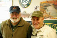 A couple of members at the K.R.F.F. March Fly Fishing School
