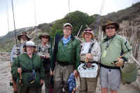 KRFF Members hitting the beach for a day of Salt Water Fly Fishing