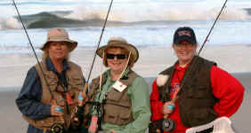 July Carpenteria Surf Fishing Outing